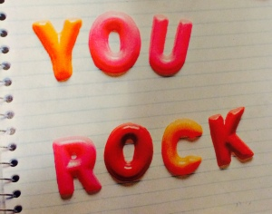 You Rock! magnets