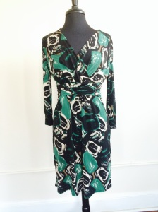 Tahari for the sophisticated working woman available for sale at the trunk show.