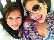 With friend in Mykonnos
